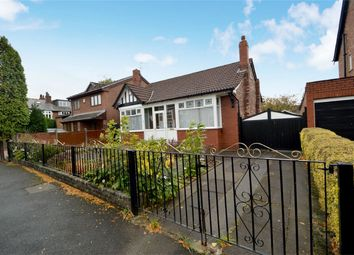 Thumbnail 2 bedroom detached bungalow for sale in Broomfield Crescent, Woodsmoor, Stockport, Cheshire