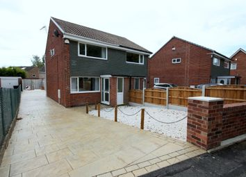 Thumbnail 2 bed semi-detached house to rent in Pickering Avenue, Garforth, Leeds