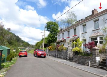 Thumbnail 2 bedroom terraced house for sale in Station Row, Pontyrhyl, Bridgend, Bridgend County.