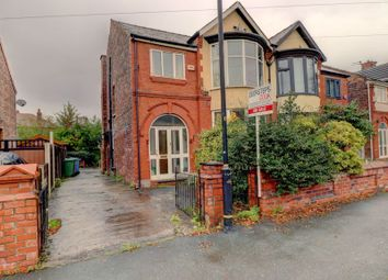 Thumbnail 5 bed semi-detached house for sale in Rye Bank Road, Firswood, Manchester