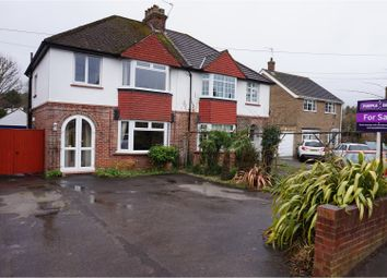 Thumbnail 3 bedroom semi-detached house for sale in Station Road, Aylesford