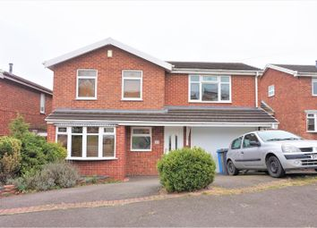 Thumbnail 4 bed detached house for sale in Kestrel Way, Walsall
