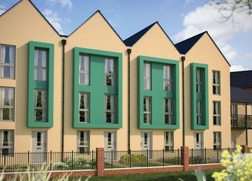 "Thumbnail 3 bed town house for sale in ""The Shenley v1"" at London Road, Calverton, Milton Keynes"