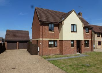 Thumbnail 4 bed detached house to rent in The Chase, Brandon