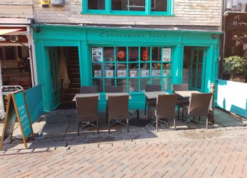 Thumbnail Restaurant/cafe for sale in St Margaret Street, Canterbury