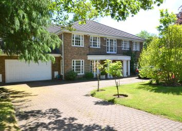 Thumbnail 5 bed detached house for sale in Ince Road, Burwood Park, Hersham, Walton-On-Thames