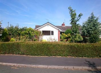 Thumbnail 2 bed bungalow for sale in Soulton Crescent, Wem