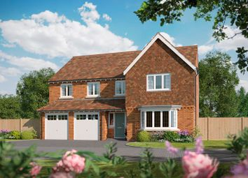 Thumbnail 5 bed detached house for sale in Tidbury Heights, Fulford Hall Road, Tidbury Green, Solihull