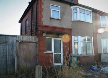 Thumbnail 3 bed terraced house for sale in Meadow Avenue, Fleetwood