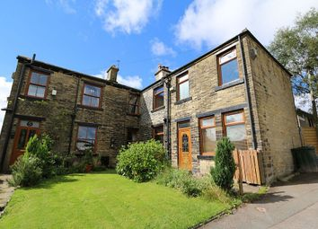 Thumbnail 2 bed semi-detached house for sale in Hill Crest Road, Denholme, Bradford, West Yorkshire