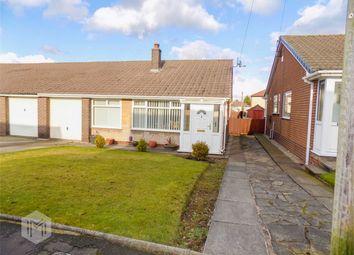 Thumbnail 3 bed semi-detached bungalow for sale in Lichfield Close, Farnworth, Bolton, Lancashire