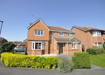 Thumbnail 4 bed detached house for sale in Queensgate Drive, Chellaston, Derby