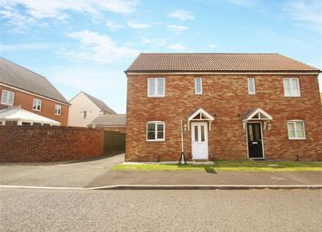 Thumbnail 3 bed semi-detached house for sale in Heathfield, West Allotment, Newcastle Upon Tyne