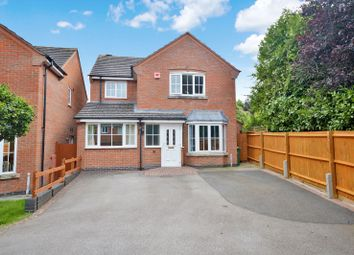 Thumbnail 4 bed detached house for sale in Fludes Court, Oadby, Leicester