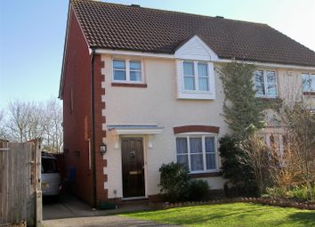 Thumbnail 3 bed semi-detached house for sale in Linnet Close, Petersfield