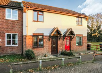 Thumbnail 2 bed terraced house for sale in Keeling Way, Attleborough
