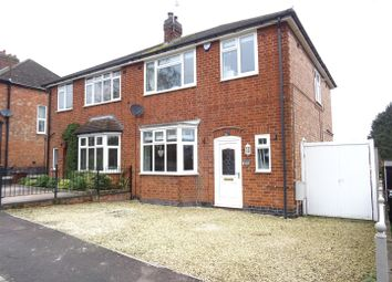 Thumbnail 3 bed semi-detached house for sale in Leicester Road, Thurcaston, Leicestershire