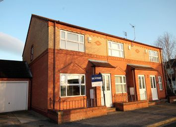 Thumbnail 2 bedroom end terrace house for sale in Bowling Green Croft, York, North Yorkshire