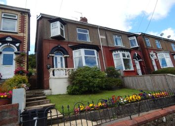 Thumbnail 3 bed semi-detached house to rent in Fairfield Terrace, Wainfelin, Pontypool