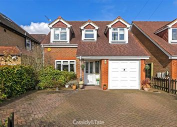 Thumbnail 4 bed detached house for sale in Hawfield Gardens, St Albans, Hertfordshire
