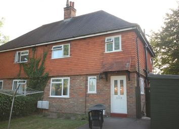 Thumbnail 1 bed flat to rent in Gordon Road, Buxted, Uckfield
