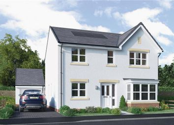 "Thumbnail 4 bed detached house for sale in ""Grant"" at North Road, Liff, Dundee"