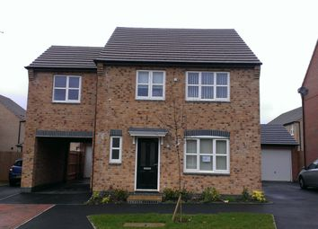 Thumbnail 4 bed detached house to rent in Anglian Way, Stoke, Coventry