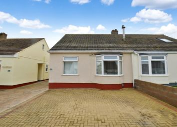 Thumbnail 2 bedroom semi-detached bungalow for sale in Villiers Close, Plymstock, Plymouth, Devon