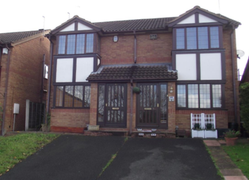 Thumbnail 2 bed semi-detached house to rent in Fox Foot Drive, Brierley Hill, Brierley Hill
