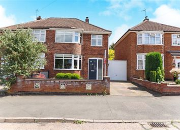 Thumbnail 3 bedroom semi-detached house for sale in Lynmouth Road, Leicester