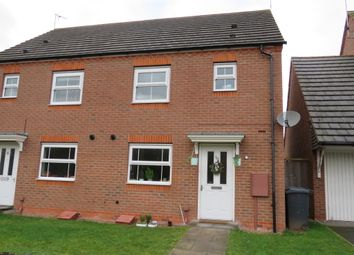 Thumbnail 3 bed semi-detached house for sale in Hardwick Field Lane, Chase Meadow Square, Warwick