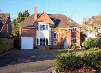 Thumbnail 6 bed detached house for sale in Brueton Avenue, Solihull