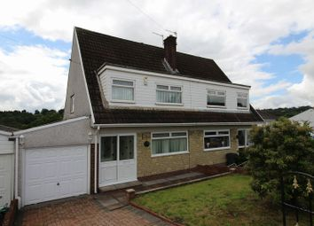 Thumbnail 3 bed semi-detached house for sale in Duffryn Close, Penpedairheol, Hengoed
