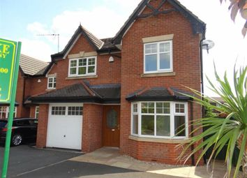 Thumbnail 4 bed detached house for sale in Lowton Gardens, Lowton, Warrington