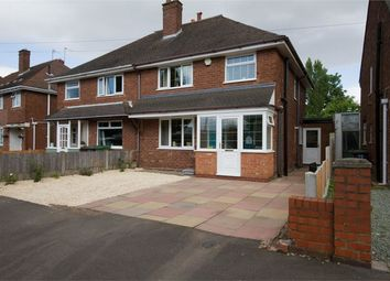 Thumbnail 3 bed semi-detached house for sale in Mattox Road, Wednesfield, Wolverhampton, West Midlands