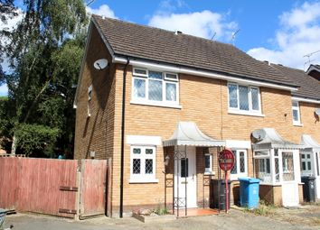 Thumbnail 2 bedroom end terrace house for sale in Goldfinch Road, Creekmoor, Poole
