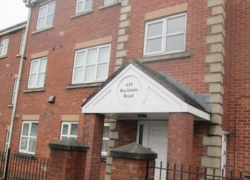 Thumbnail 2 bed flat to rent in Rochdale Road, Manchester