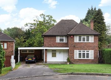 Thumbnail 4 bed detached house for sale in Henley Drive, Coombe Hill