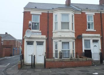 Thumbnail 3 bedroom flat for sale in Hampstead Road, Benwell, Newcastle Upon Tyne