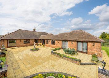 Thumbnail 4 bed detached bungalow for sale in Norton, Bury St Edmunds, Suffolk