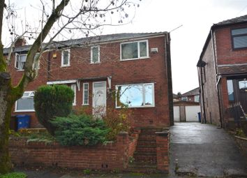 Thumbnail 3 bed terraced house for sale in Hampden Road, Prestwich, Manchester