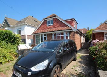 Thumbnail 5 bedroom detached bungalow for sale in Malvern Road, Moordown, Bournemouth
