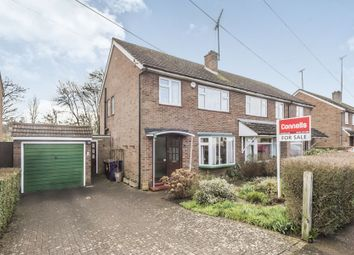 Thumbnail 3 bed semi-detached house for sale in Oakfield Avenue, Hitchin