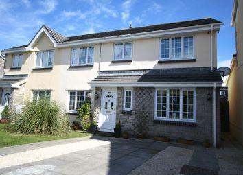 Thumbnail 4 bed semi-detached house for sale in Heol Ger-Y-Felin, Llantwit Major