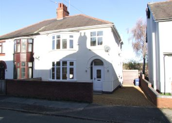Thumbnail 3 bed semi-detached house for sale in Alexandra Road, Burton-On-Trent