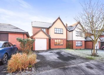 Thumbnail 4 bed detached house for sale in Fairwater Close, Evesham, Worcestershire, .