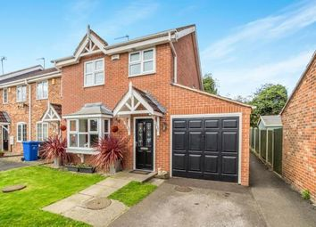 Thumbnail 3 bed end terrace house for sale in Chesterford Court, Littleover, Derby, Derbyshire