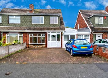 Thumbnail 3 bed semi-detached house for sale in Harlech Road, Willenhall