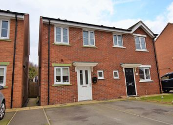 Thumbnail 2 bed semi-detached house for sale in Cloisters Way, St. Georges, Telford