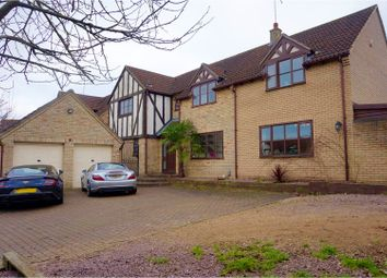 Thumbnail 5 bed detached house for sale in Martins Way, Peterborough